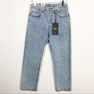 Levi's | 501 Cropped High Rise Straight Leg 28